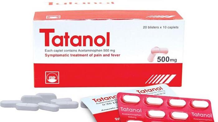 Thuốc Tatanol được sử dụng khá phổ biến